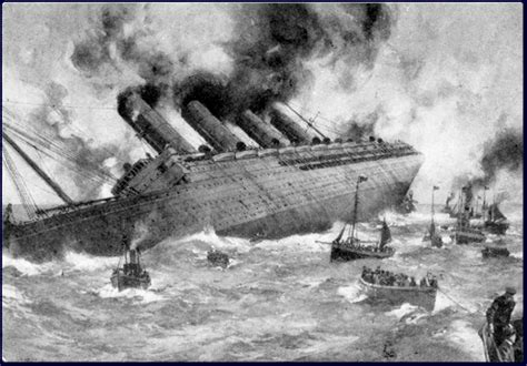 Rms Lusitania Sinking by Lost In The Myths Of History The Sinking Of Lusitania