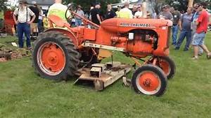 Allis Chalmers B With Woods Mower Sold At Auction