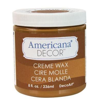 decoart americana decor 8 oz golden brown creme wax adm02