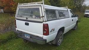 2003 Chevy  K1500 Silverado Pickup With Topper