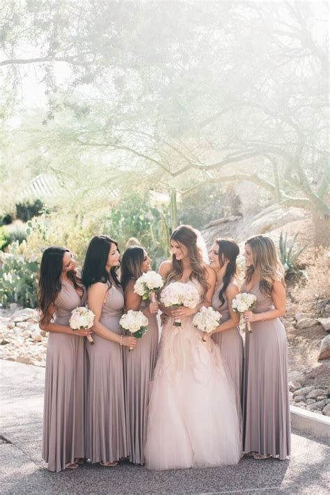 Classic Mauve And Gold Arizona Wedding Modwedding