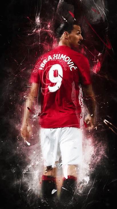 Manchester United Wallpapers Ibrahimovic Utd Zlatan Soccer