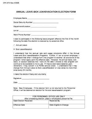annual leave form fillable fill online printable