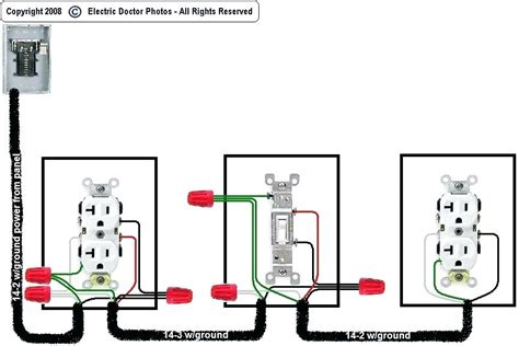 light switch with outlet wiring diagrams light switches and outlets a switched