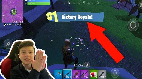 fortnite mobile win youtube