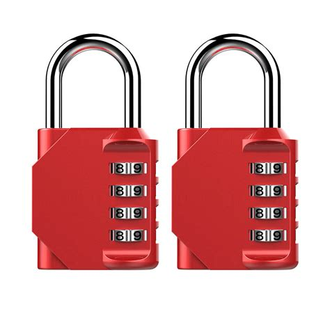 pack red combination lock puroma