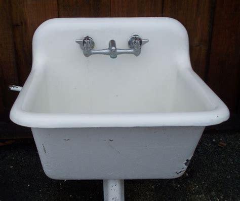 Kohler Cast Iron Farmhouse Sink by Utility Sink Garage Cottage Exteriors Pinterest