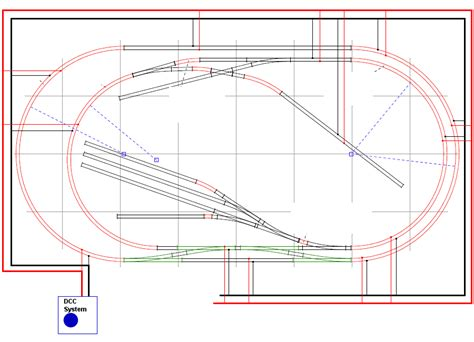 dcc layout wiring diagram electrical connections layout modelrailroadforums com