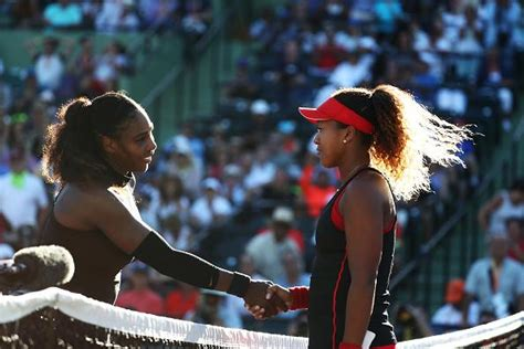 naomi osaka vs venus williams serena williams could face fine after miami open exit to