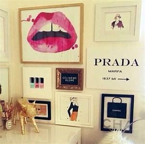 gossip girl inspired wall art design inspiration With fashion wall art