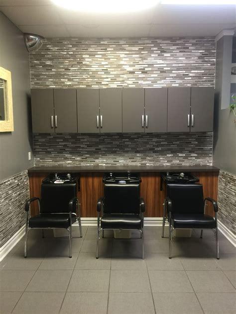 Salon Shampoo Area  Hair Salon Decor  Pinterest Salons
