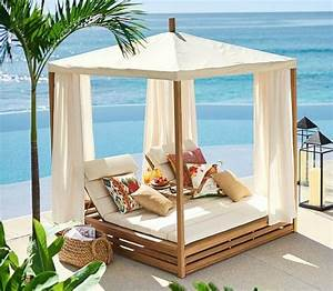 Bring a Beach Cabana to the Backyard for the Ultimate