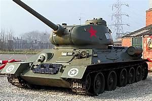 Surviving T34/85 Russian Soviet WW2 Medium Tank - Eden ...