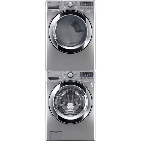 LG WM3370HVA Front Load Washer & DLEX3370V Electric Dryer