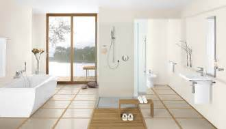 Japanese Bathroom Ideas Astounding Japanese Bathroom Style With Open Space Ideas Feat Free Standing Bathtub With