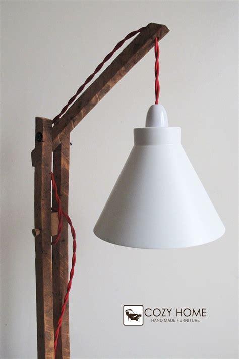 vintage wooden stand lampfloor lamp standing ebay