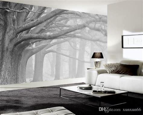 Schwarze Tapete Wohnzimmer by 3d Wallpaper Living Room Bedroom Murals Modern Black And