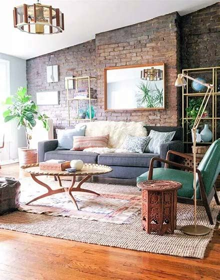 Industrial Style Wohnzimmer by Industrial Style Living Room Chandelier Image