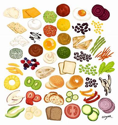 Sandwich Ingredients Chiu Cargocollective