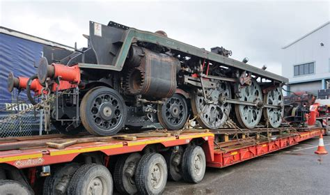 34028 Eddystone's Rolling Chassis Returns Back To Herston
