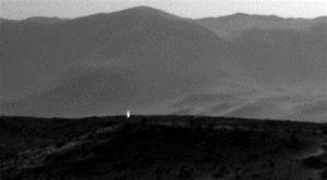 NASA Rover Captures Light Beams Coming Out From Mars ...