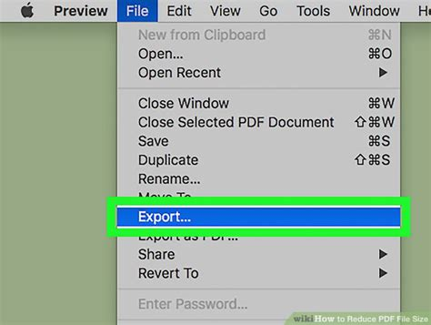 ways  reduce  file size wikihow