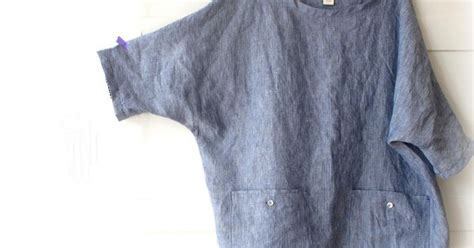 Woman Linen Tunic, Oversized Top With Pockets, Linen Shirt. Sizes M, L, Xl. Softened Flax. 9