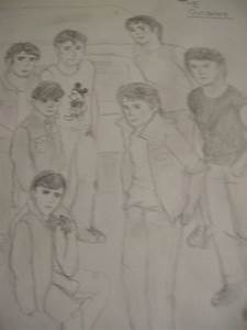 Outsiders Ponyboy Drawing