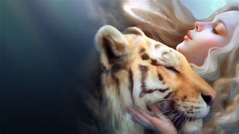 Tiger Girl Wallpapers | HD Wallpapers | ID #12634