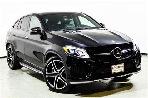 mercedes benz amg gle  matic coupe suv black