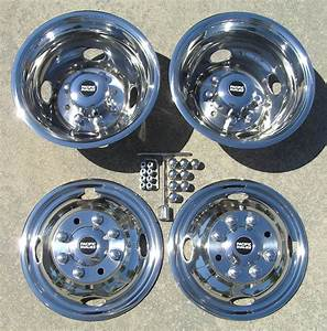 16 U0026quot  1974-1997 Ford F350 4wd Only Dually Wheel Simulators