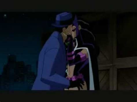 Kiss Anime Justice League Huntress And Question Kiss Youtube