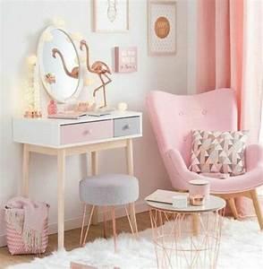 Table Basse Cuivre Rose : 1001 conseils et id es pour une chambre en rose et gris sublime chambre enfant pinterest ~ Melissatoandfro.com Idées de Décoration