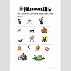 Halloween Vocabulary Worksheet  Free Esl Printable Worksheets Made By Teachers