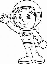 Astronaut Coloring Printable Space Spaceman Astronauts Solar System Suit Drawing Sheets Coloringbay Boy Getdrawings Preschool Moon Prev Categories Getcolorings Again sketch template