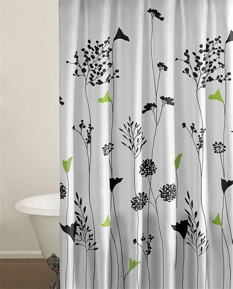 black and green shower curtain fabric shower curtains that will dress up your bathroom