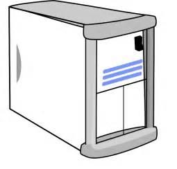 Computer Server Clip Art