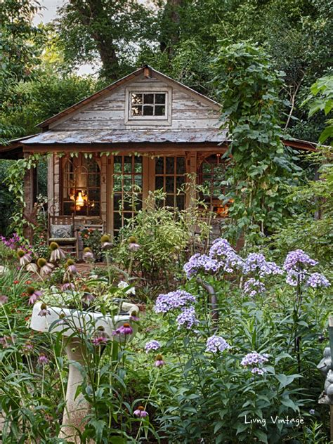 Jenny's Garden Shed    Revealed!  Living Vintage