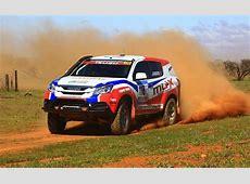 Isuzu MUX enters 2015 Dakar Rally, boosted to 600Nm
