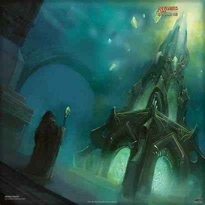 Mana Vault Magic Wallpapers Wizards Gathering Archive