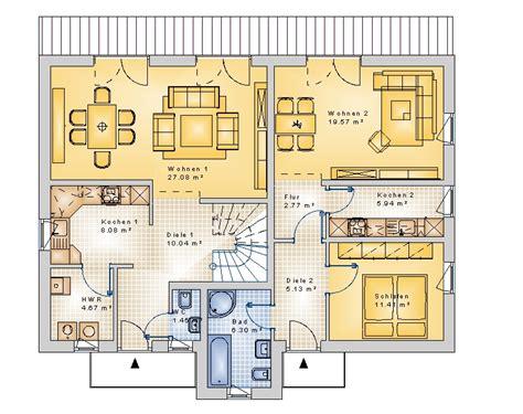 Doppelhäuser, Mehrfamilienhäuser, Massivhaus