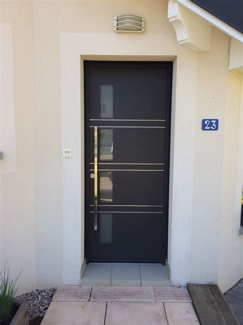 k line porte d entree portes d entr 233 e aluminium k line menuiserie alu pvc bois