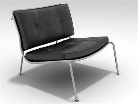 Frog Lounge Chair 3d Model