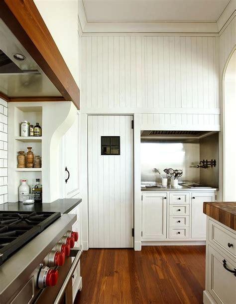 Kitchen with Beadboard Ceiling   Cottage   kitchen