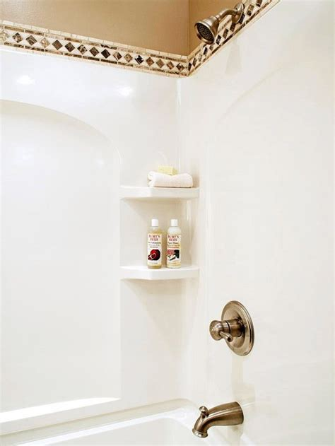 decorating and update ideas for a fibreglass shower or tub