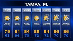 Tampa-area forecast: A weekend fling with autumn weather ...