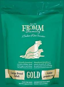 large breed adult dog food fromm family foods With fromm adult dog food