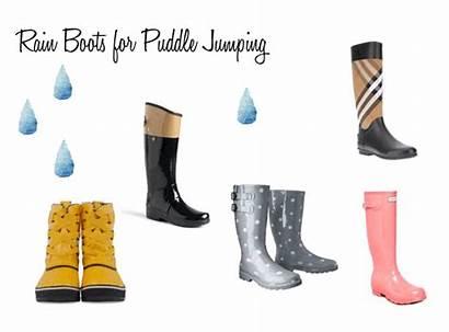 Boots Rain Puddle Jumping Hunter Perfect Rainy