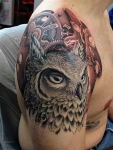 Shane Owl Clockwork chris black