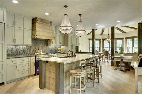 farmhouse kitchen islands 15 inspirational rustic kitchen designs you will adore